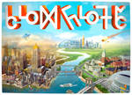 SimCity Poster in Simlish language by Zenionith