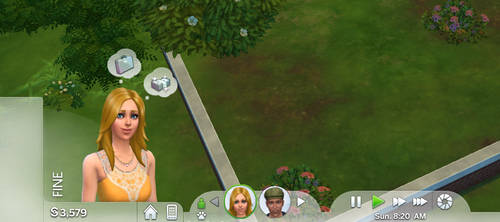 The Sims 4: New Sims Panel