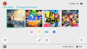 Nintendo Switch: Home Menu UPDATE