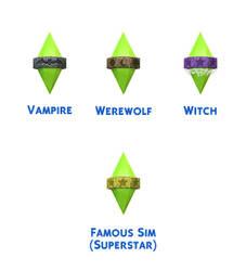 The Sims 4: Lifestate Plumbob Styles
