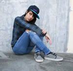 Skater Girl Stock 5