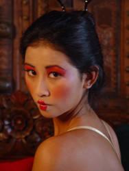 Geisha girls -up close