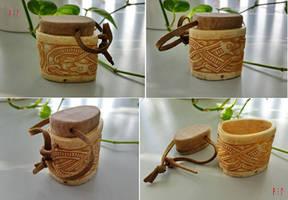 Vikings Salt Box