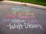 Walt Disney in Rainbow