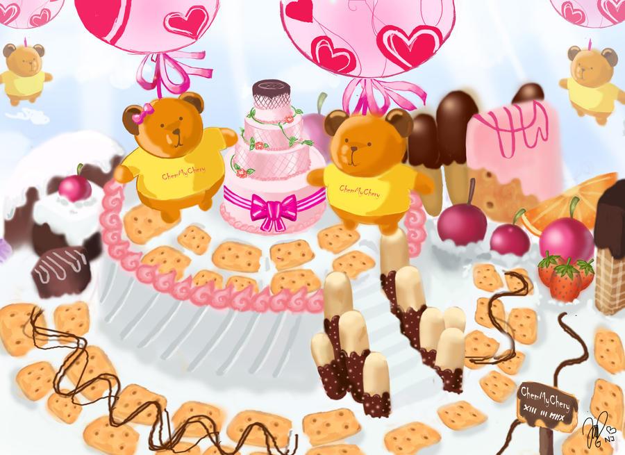 The Cake Art Studio Atherstone : Chemychery (Natasya Juliana) - DeviantArt