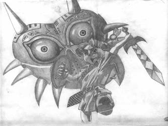 Majoras Mask by nincube