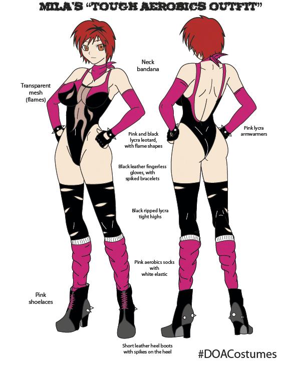 Mila's 2013 aerobics outfit by Dark-sensei