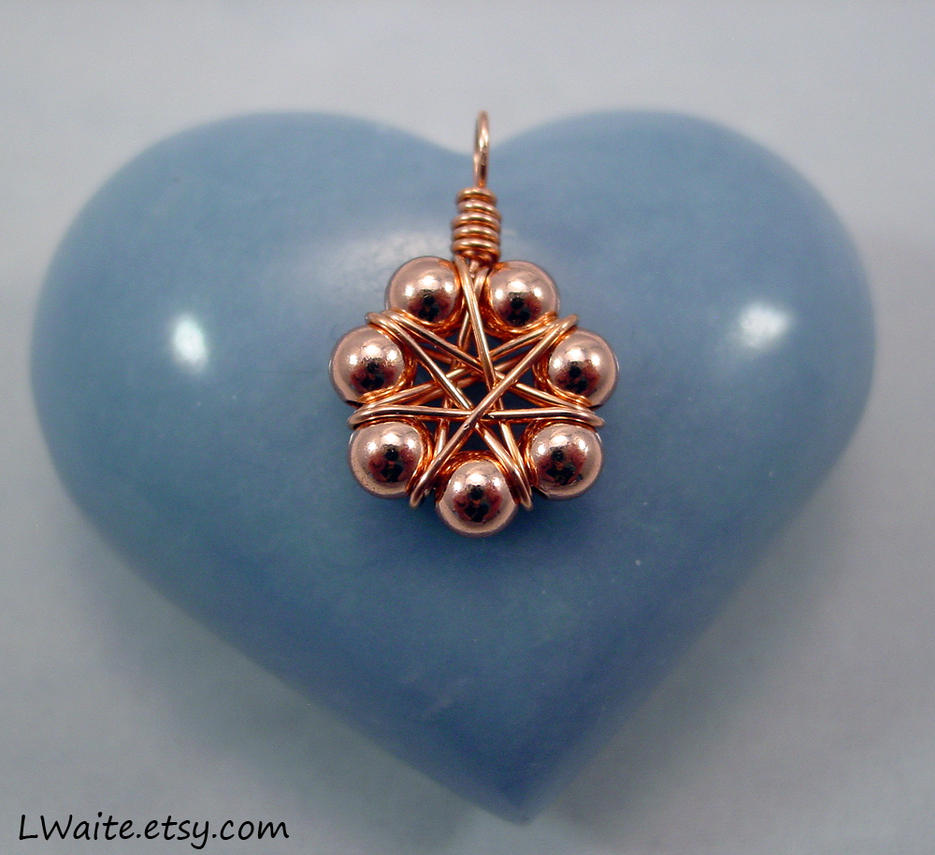 solid copper small pendant by lwaite on deviantart