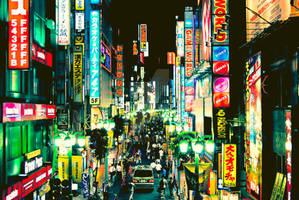 Shinjuku nights by manganite