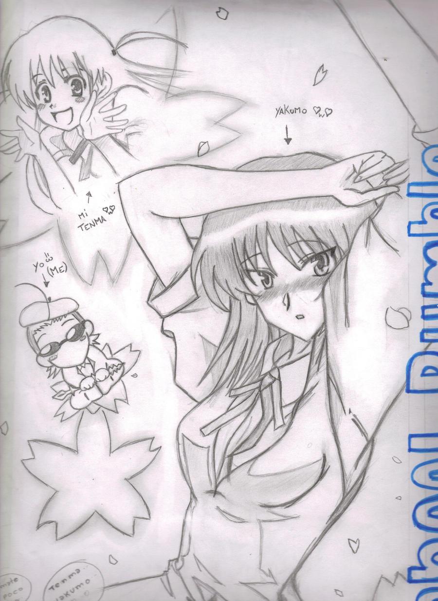 Yakumo And Harima School Rumble Yakumo b...