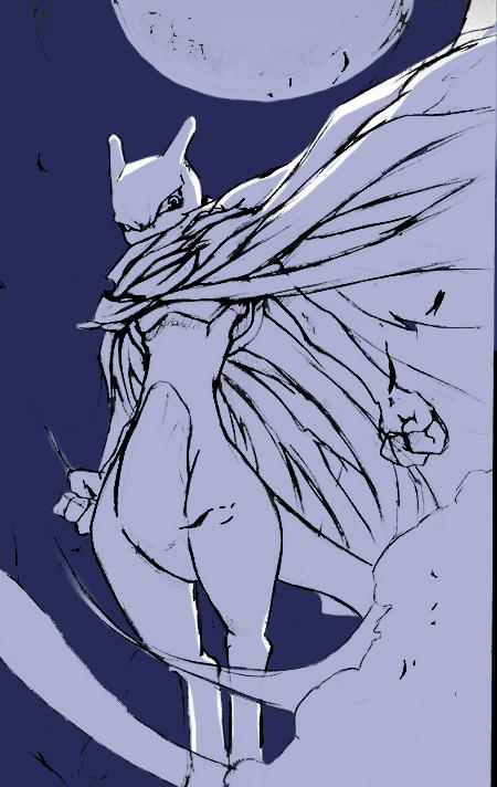 Mewtwo by Darg-Sohuma
