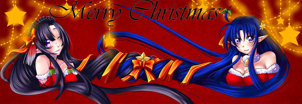 Merry Christmas / Feliz Navidad (Collab) by Darg-Sohuma