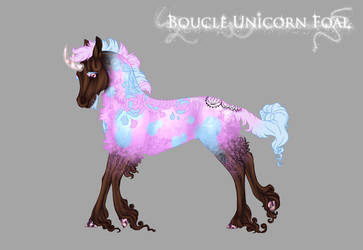 Boucle Unicorn Foal M258 [Skittles x Rossi] by Aislein
