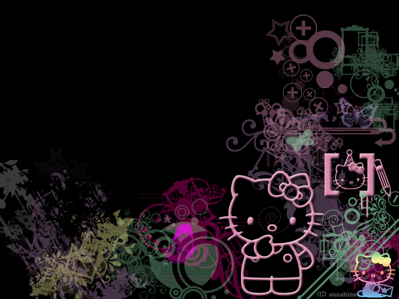 With a bigger hello-kitty wallpaper hello kitty resource.