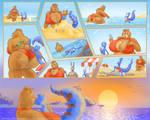 Fun Time Beach COMMISSION by weasselK