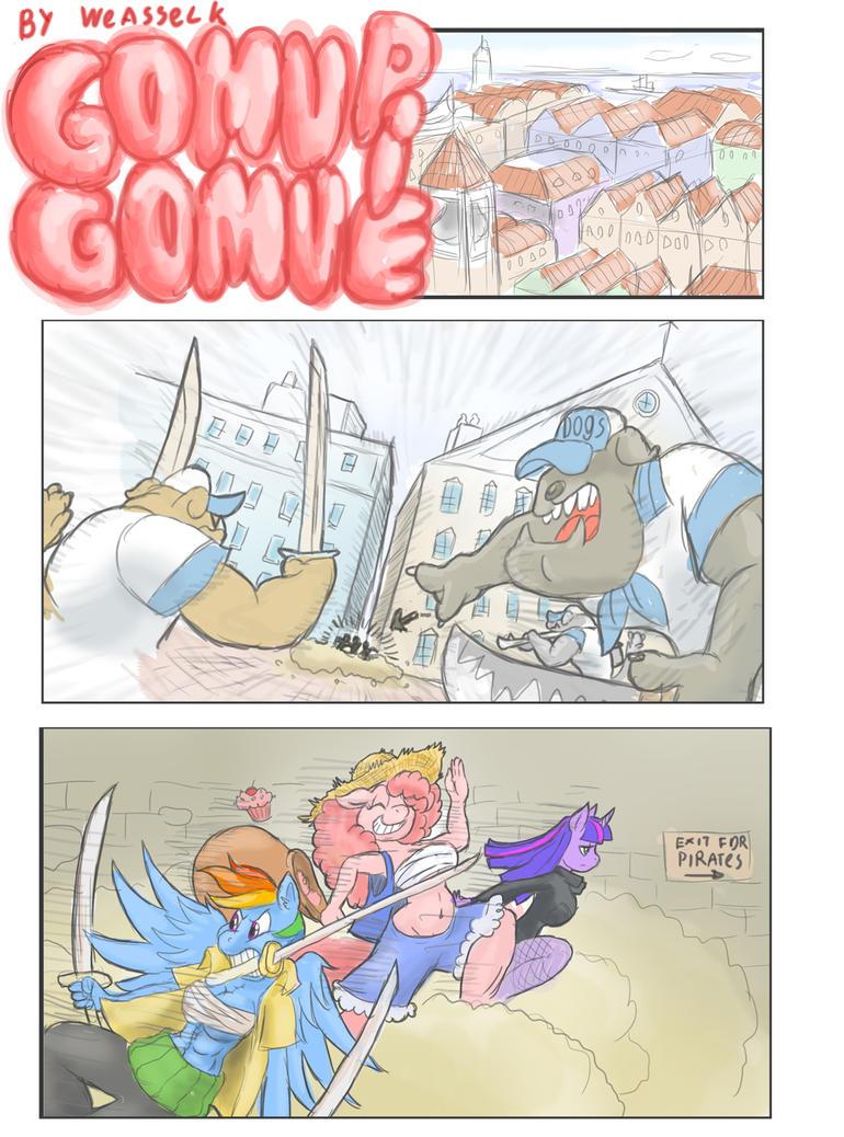 Gomu Gomu Pie pg1 by weasselK