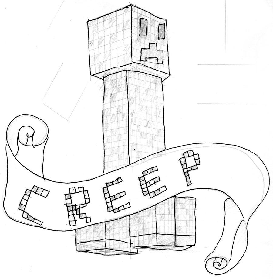 creeper tattoo design by i became insanity on deviantart. Black Bedroom Furniture Sets. Home Design Ideas