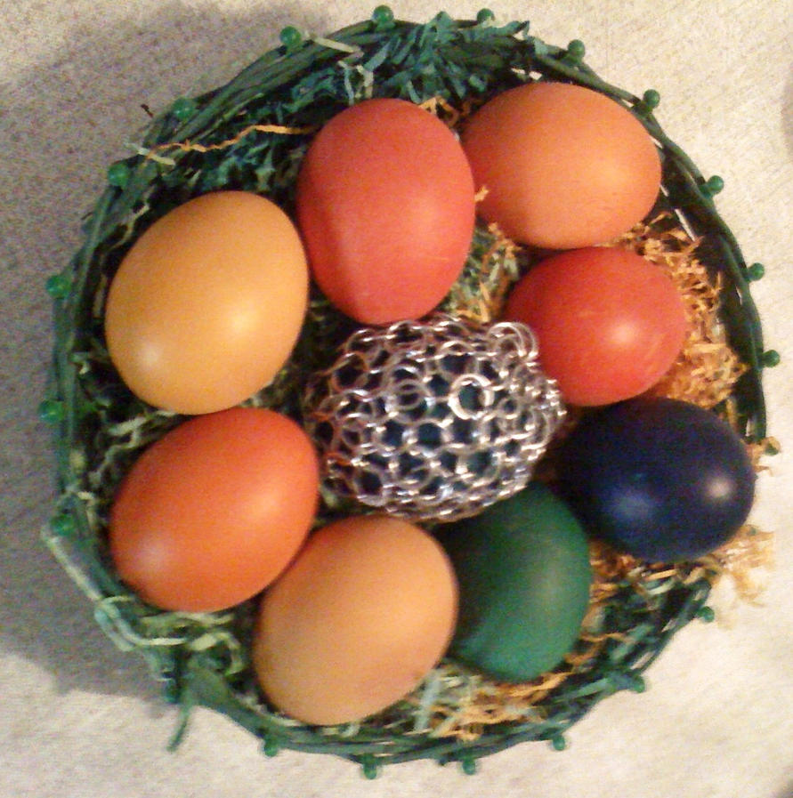 Sretan Uskrs Armored_egg_by_gmagdic-d4vnb8x