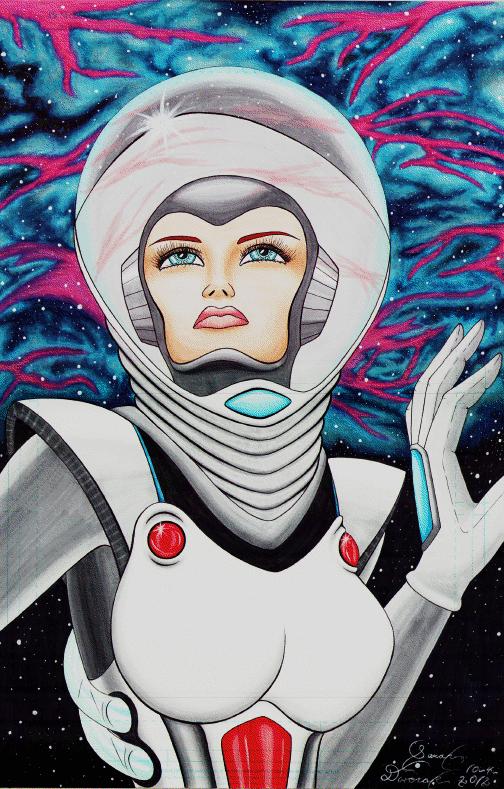 female astronauts drawings -#main