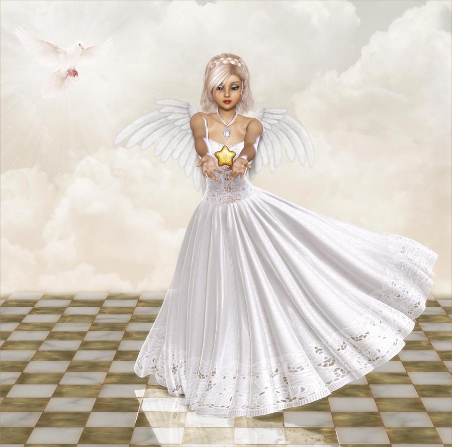 beautiful angel by frolleinzombie on deviantart