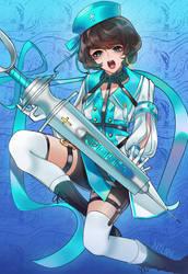 Nurse Marmelo by Nyl0nStockings