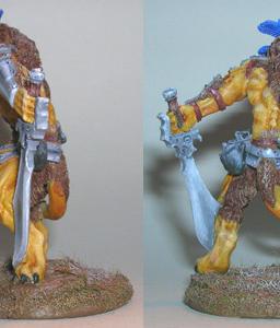 Lion Warrior by Asair