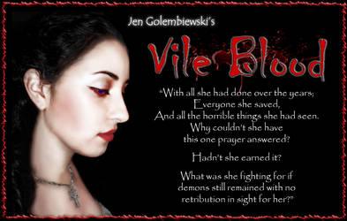 Vile Blood Quote by jengolem
