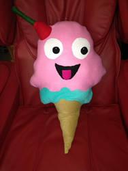 Icecream stuffed animal by jengolem