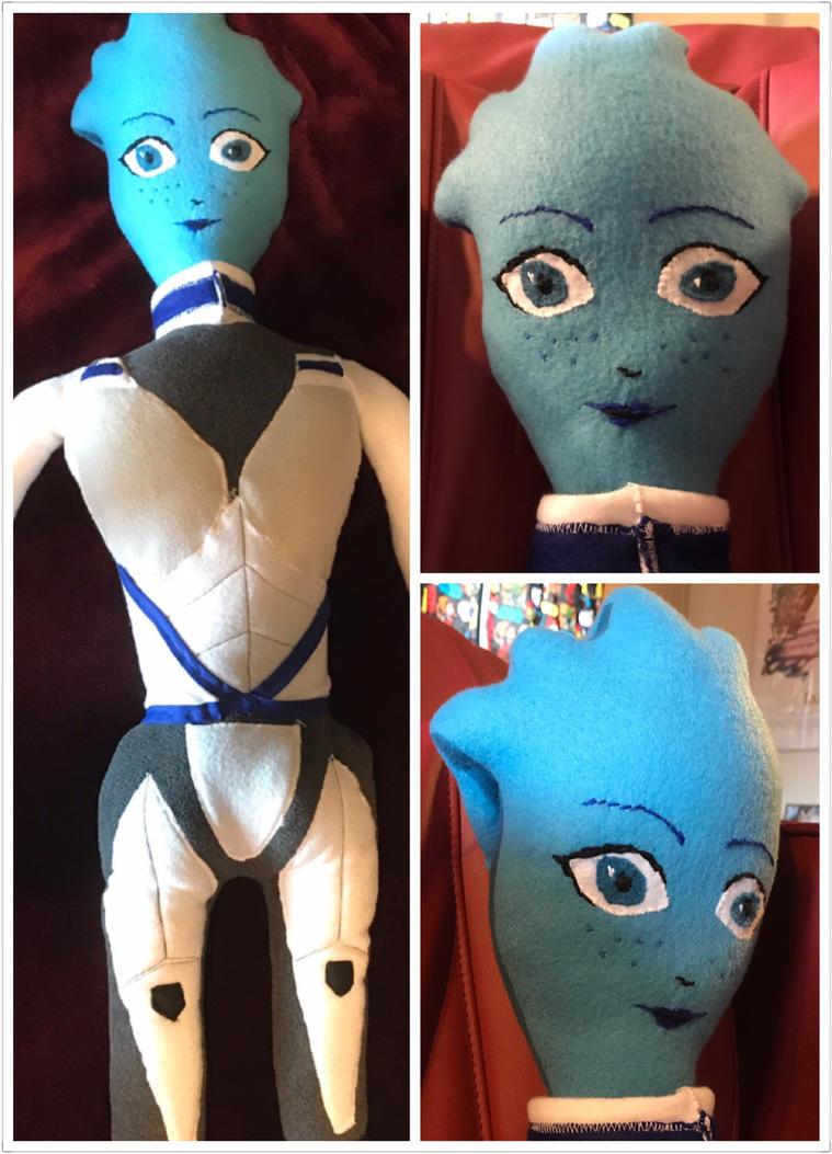 Liara doll by jengolem