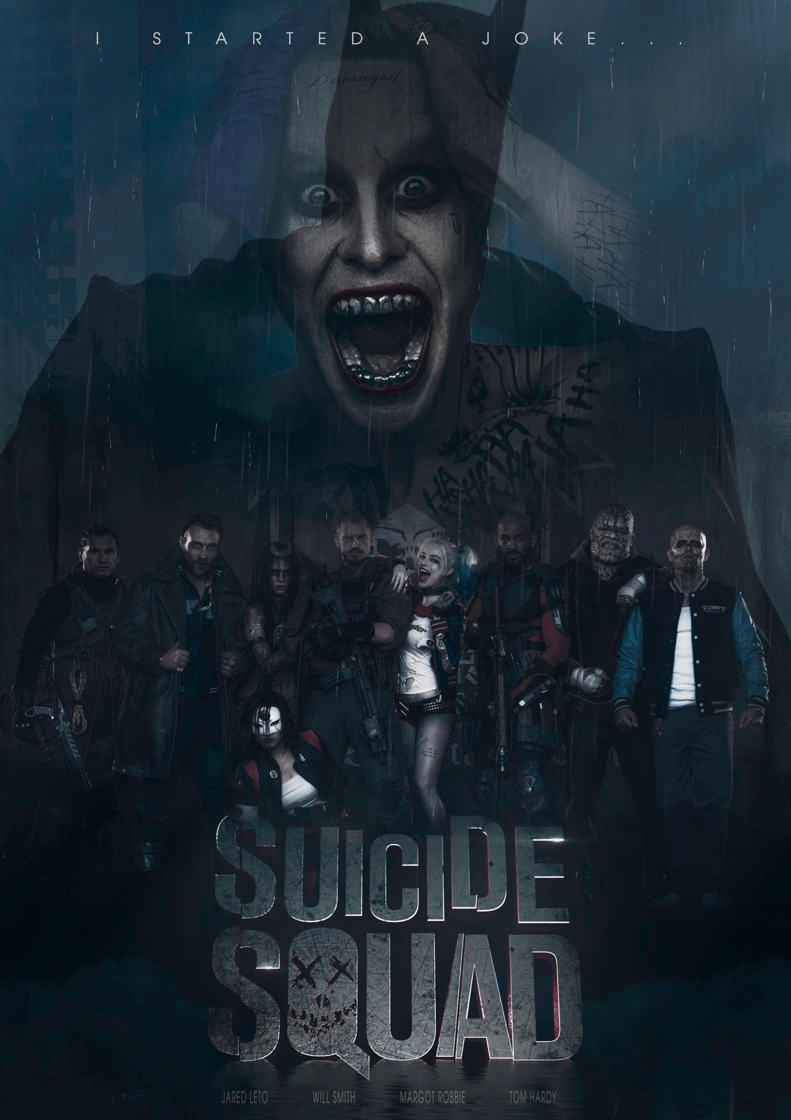 Suicide Squad Fan Made Poster