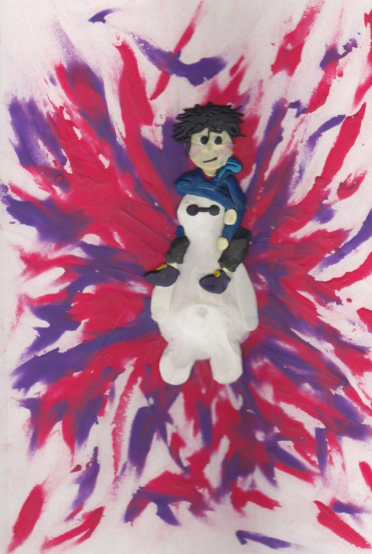 Hiro and Baymax by firebutterfly-narya