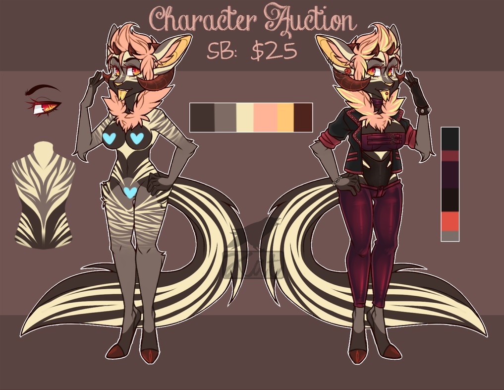 [CLOSED] Hellhound Character Auction by MizBadLuck