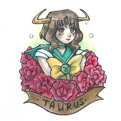 Sailor Taurus by ElyanaSP