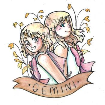 Sailor Gemini by ElyanaSP