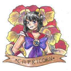 Sailor Capricorn by ElyanaSP