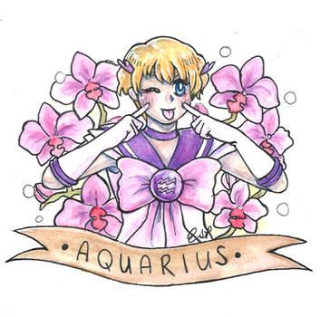 Sailor Aquarius by ElyanaSP