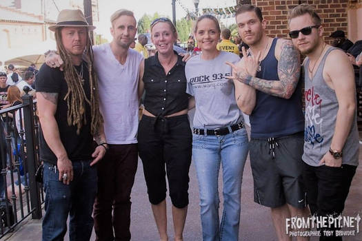 Meet n Greet with the Rock Band Shinedown