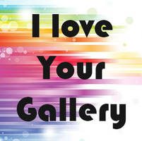 I Love Your Gallery 1 by PaigeMillsArt
