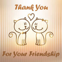 Thank you for your friendship 2 by PaigeMillsArt