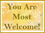 You are most welcome 2