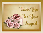 Thank You For Your Support 1