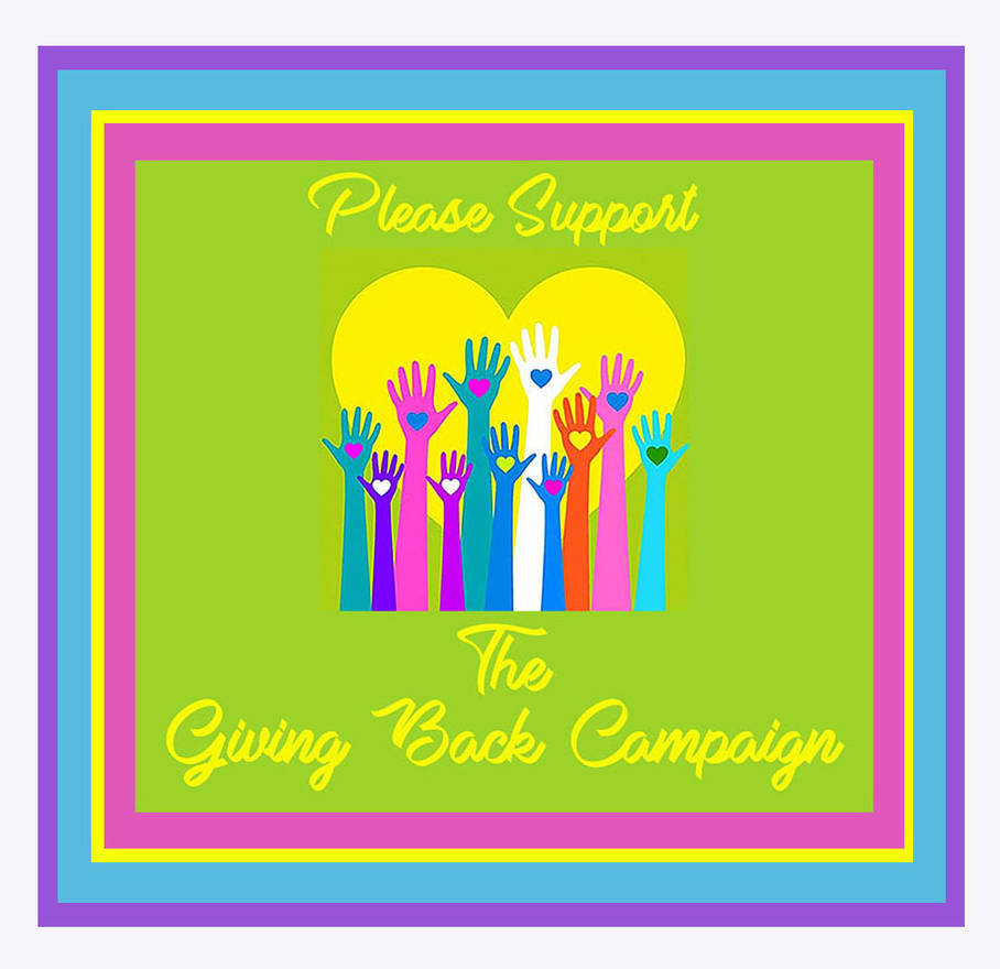 Please Support The Giving Back Campaign