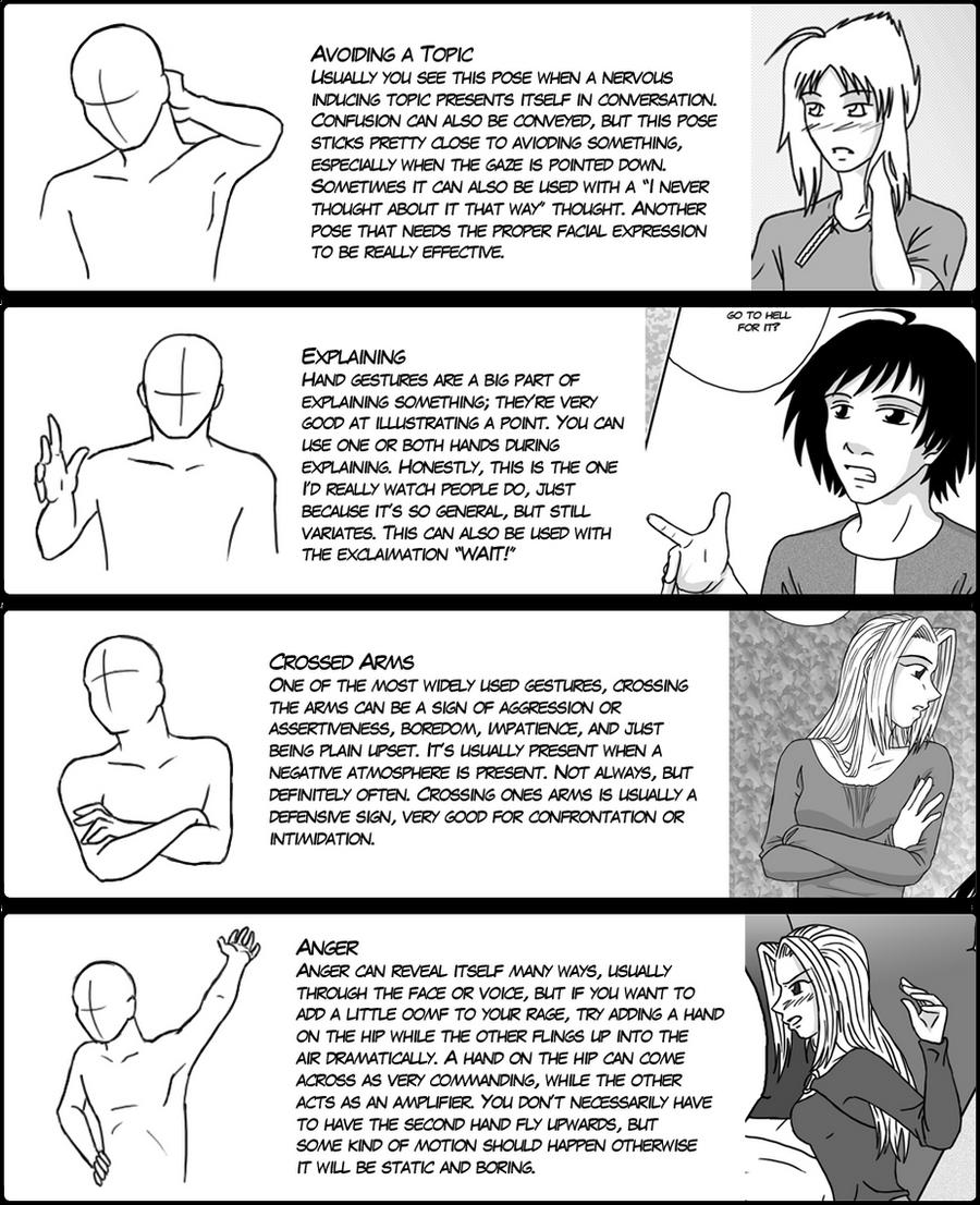 Hand Gesture Tutorial 3 by DerSketchie