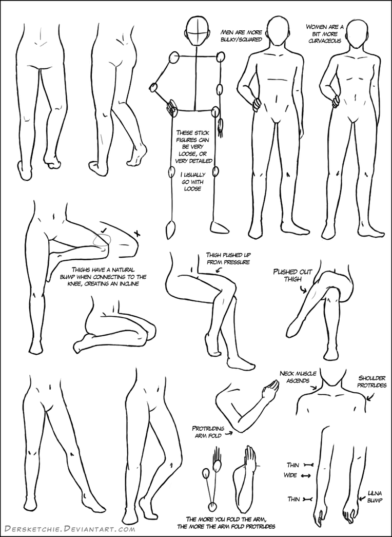 Leg Tutorial by DerSketchie