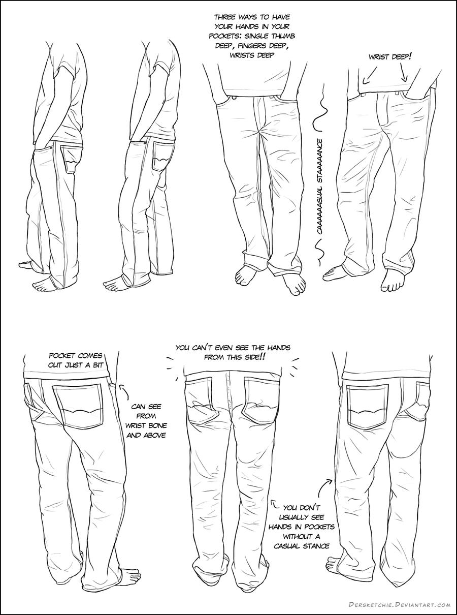 Hands in Pockets by DerSketchie