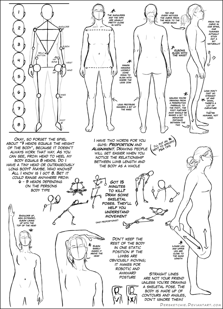 Basic Body Tutorial by DerSketchie