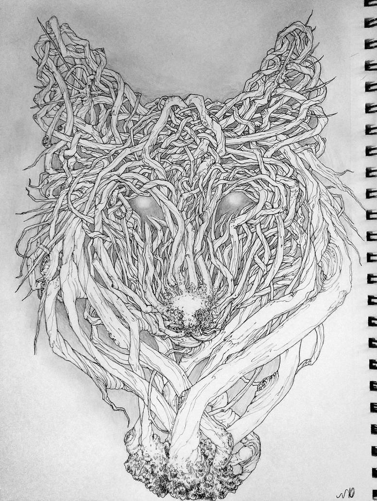 Pre-Tablet Sprig Wolf by DerSketchie