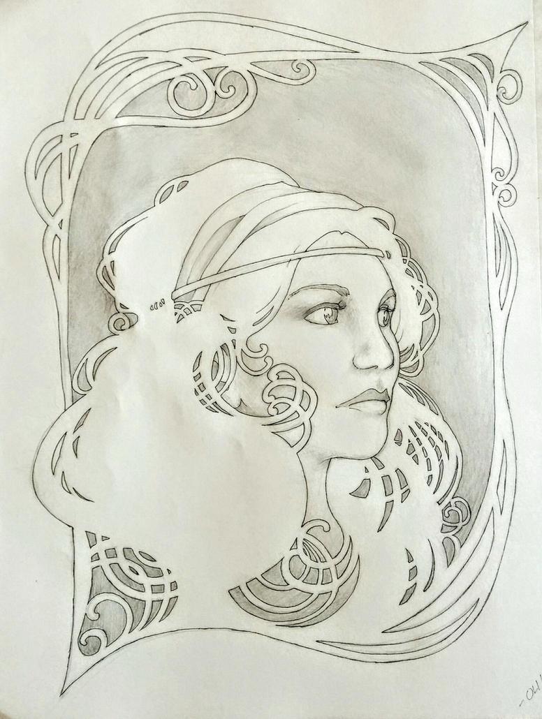 Leah by DerSketchie