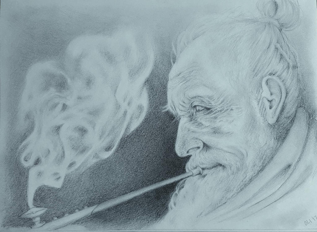 Old Man by DerSketchie