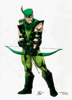 Green Arrow by Reirden